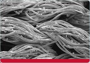 fibre termoregolatrici per il letto outlast